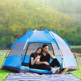 7 في 1 UV مقاومة للتهوية ضد للماء خيمة أوتوماتيكية للتخييم في الهواء الطلق