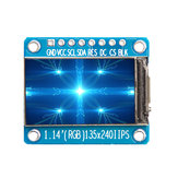 1.14 Inch TFT Display IPS LCD Screen ST7789 HD LCD Display Module Geekcreit for Arduino - products that work with official Arduino boards