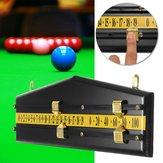 MDF Billiards Scoreboard Snooker Game Scorer Board Player Calculator Number Scorer Board