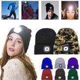 LED Light Beanie Hat Bonnet en tricot
