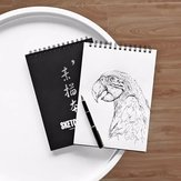 Guangbo 1 pezzo A4 Sketchbook Sketchbook Notepad Notebook per disegnare Pittura Graffiti Office School Supplies da XM