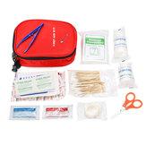 100Pcs Kit de Primeiros Socorros SOS Kit de Sobrevivência de Emergência Acampamento Ao Ar Livre Sobreviver Bolsa