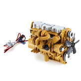 HG 6ASS-P01 Zinc Alloy Diesel Engine 1/12 Carburetor for P602 RC Car Vehicles Model Spare Parts