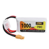 ZOP Power 11.1V 1000mAh 70C 3S Lipo Battery XT60 stik til JJRC M02 RC fly