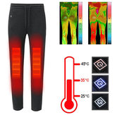 Intelligent 3Modes USB Electric Heating Pants Washable Thermostatic Thermal Trousers Winter Warm Pants for Man and Women