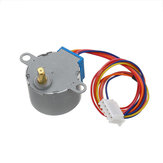 5pcs 28BYJ-48 5V 4 Phase DC Gear Stepper Motor DIY Kit Geekcreit for Arduino - products that work with official Arduino boards