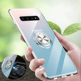 Bakeey Clear Ring Grip Stand Magnetic Adsorption Protective Case For Samsung Galaxy S10 Plus