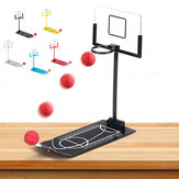 Basketball Spiel Spielzeug Metall Desktop Dekoration Faltbare Shooting Rack Stressabbau Ornament Kreative Office Home Tischdekor Geschenk