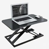 BAIZE 21049 Laptop Desk Computer Table Adjustable Height Lift Sit-Stand Dual Use Desktop Workstation