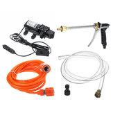 Outil de kit de pulvérisateur de pompe de lavage de l'eau à haute pression de nettoyeur de laveuse 12V 120W pour le véhicule