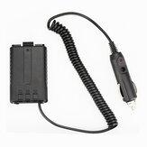 BAOFENG 12V Walkie Talkie Acessórios para interfone de carregador de carro móvel de transceptor para BAOFENG UV5R / 5RE / 5RA