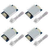 TWO TREES® 4Pcs TL smoother Plus Addon Module + 4Pcs Heat Sink Kit for 3D Pinter Motor Drivers I3