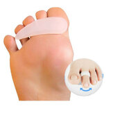 1 Pair Soft Gel Toe Correction Separator Toe Claw-like Mallet Toes Straightener Claw Relief Corrector Aid