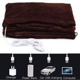 Warmtoo 45x80см Авто Домашнее отопление с подогревом Одеяла с подогревом Шея Нагревательный платок USB Soft 5V 4W Winter Warm Здоровье Автоe