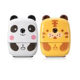 Praktische Tiger Panda Tierförmige Mini-manuelle Bleistiftspitzer Geschenke Büro Schule Studenten Schreibwaren