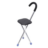 Travel Camping Cane Walking Varanda Cadeira de pesca Portátil Folding Tripod Stool Hiking Seat