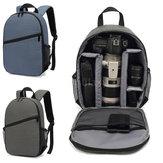 防水デジタルカメラバッグ屋外多機能収納ショルダーバックパック旅行