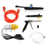 12V 120W Portable High Pressure Car Wash Spray Guns Foam Sprayer Washer Cleaner Water Pump
