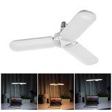 36W 45W 3Blades Folding E27 Motion Sensor LED Bulb Pendant Lamp Decor AC95-265V