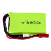 Flysky 7.4V 1500mAh 8C 2S Li-ion Battery JST Plug for FS-GT5 2.4G 6CH RC Transmitter