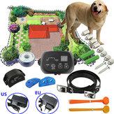 Köpek Dostu Yeraltı Pet Elektronik Çit Su Geçirmez Çit Şok Yaka Sistemi 300 Metre One Köpek Için