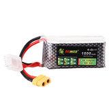 LION Power 14.8V 1500mAh 40C 4S Lipo Battery XT60 Plug for FPV Racing Drone
