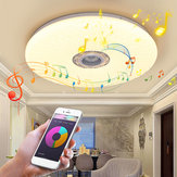 60W Smart LED Lampada da soffitto RGB bluetooth Music Speaker dimmerabile lampada APP remoto