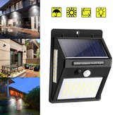 100 LED Solar Light PIR Motion Sensor Safety Outdoor Garden Wall Light