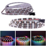 DC5V 2M Estrecho 5MM Ancho WS2812B 5050 60LED / M IP20 Direccionable individual RGB Dream Color LED Luz de tira