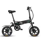[EU Direct] FIIDO D1 36V 250W 10.4Ah 14 Inches Folding Moped Bicycle 25km/h Max 60KM Mileage Electric Bike