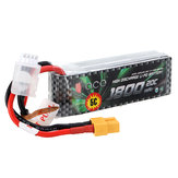 GENS ACE 1800mAh 20C 11.1V 3S1P Lipo Battery T/XT60 Plug For All Trx4 1/16 VXL Models