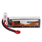 ZOP Power 11.1V 2800mAh 45C 3S Lipo Battery T Plug for RC Car Airplane