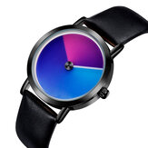 SANDA P1031 Fashion 3D Colorful Gradient Dial Quartz Watch