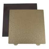 235x235mm Magnetic Sticker B Surface with Golden Double Texture PEI Powder Steel Plate for 3D Printer