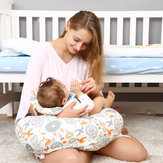 i-Mummy Multi-Function Breastfeeding Pillow Detachable Cotton Soft Pillow Baby Pillow From Xiaomi Youpin Baby Safety Cushion Sit Learning Cushion