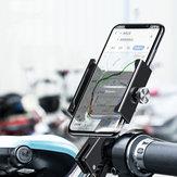 BaseusAviationأشابةدراجةدراجةنارية سكوتر المقود مرآة الرؤية الخلفية هاتف حامل 360º دوران لمدة 4.7-6.5 بوصة ذكي هاتف