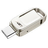 EAGET CU31 Type-C USB 3.1 32GB 64GB 128 GB de alta velocidade Flash Drive U Disk para Type-C Telefone inteligente Laptop MacBook