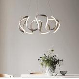 Plafoniera moderna a LED in cristallo con pendente a sospensione moderna camera da letto lampada apparecchio regolabile