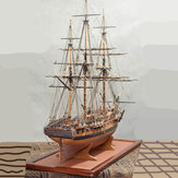 1:64 Scale DIY Assembly Diane Ship Model DIY Kits Wooden Sailing Boats Desktop Decoration Kids Toys Birthday Gift Newest Style