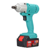 108VF 12800mAh Lithium-Ion Battery Electric Cordless Impact Wrench Drill Driver Kit