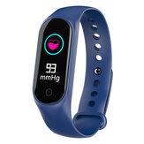 Bakeey M4S Kalp Hızı Kan Basıncı O2 Monitör Çok spor Modları Çağrı Reddi USB Şarj Akıllı Izle