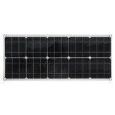 50W High-Efficiency Solar Panel Portable Single-Crystal Power Panels