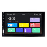 X2 7 Zoll 2 Din HD Autoradio MP5-Player Touchscreen Bluetooth FM USB TF-Karte AUX Remote Support Rückfahrkamera