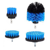 4pcs Drill Scrubber Brush Cleaning Brush Power Tool Electric Bristle Bathtub Tile Grout Cleaner