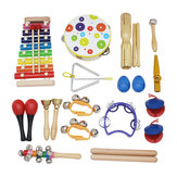 SY-60 19-piece Orff Instruments Set Early Education Enlightenment Instrument for Children