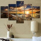 Enorme sol Sky Arte abstracto moderno de la decoración de la pared Oil Decoraciones del arte de la lona de la pintura