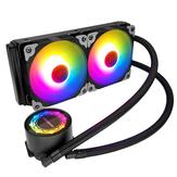 Coolmoon 1PCS 12cm ARGB Wasserkühlung Motherboard Synchronisation PWM CPU Lüfter für Desktop PC