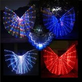 LED Isis Wings Nattlys Glow Up Lamp Kostyme Belly Dance Egyptian Club Show With Stick