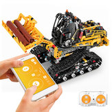 MoFun DIY 2.4G Block Building Programmabile APP / bastone Controllo interazione vocale Smart RC Robot Car