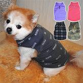 ऊन सर्दियों के कुत्ते के कपड़े छोटे बड़े बड़े कुत्ते पालतू जानवर कीट जैकेट जैकेट गर्म कपड़े